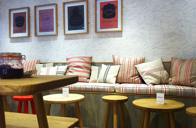 Melrose and Morga shop interior designer - Seating